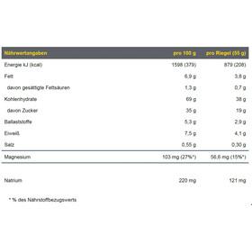PowerBar Energize Advanced Boîte de barres 25x55g, Mocca Almond